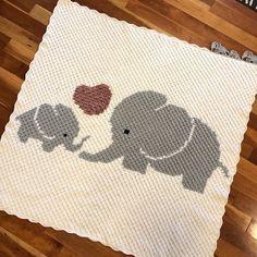 Baby Kids Graphgan Pattern Corner to Corner C2C Crochet | Etsy