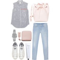 Spring Trend with LuckyShops Weekend Outfit, Weekend Wear, Boho Fashion, Luxury Fashion, Fashion Outfits, Polyvore Outfits, Polyvore Fashion, Casual Summer Outfits, Cute Outfits