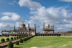Look at the Divine Geometric Harmony on which they ultimately built the Taj Mahal - Ibrahim Rauza at Bijapur in India