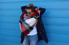 5 Steps to the Perfect Blanket Scarf - Two Peas in a Prada
