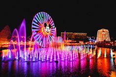 Disney California Adventure World of Color #disneyland
