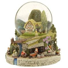 Snow White Dwarf Mine Snowglobe