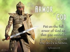 Armor of God: Prayer to Put on the Whole Armor of God