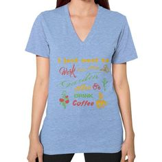 I JUST WANT TO Garden V-Neck (on woman)