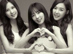Seohyun&Taeyeon&Tiffany #snsd #tts