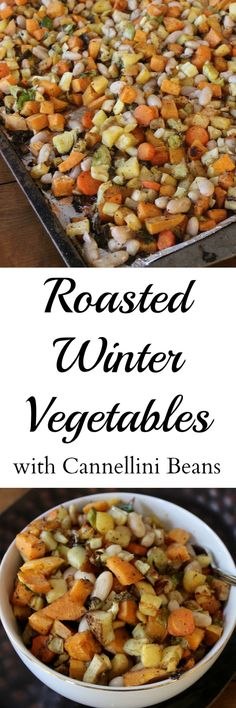 Roasted Winter Vegetables- these are addicting! Even the veggie-hating guys in my family devoured them!