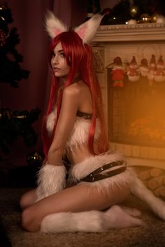 Cosplay Katarina Kitty Cat League of Legends