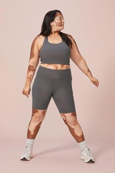 Short Girlfriend, Best Fat Burning Workout, Activewear Sets, Fat Women, Boss Women, Looks Plus Size, Made Clothing, Star Fashion, People
