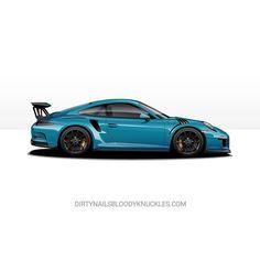 Miami blau. Artwork at Dirtynailsbloodyknuckles.com Link in profile #porsche #911 #porsche911 #porscheart #991 #gt3 #911gt3 #gt3rs #991gt3 #911gt3rs #rs #gt3 #porschegt3 #991911 #automotiveart #automotiveapparel #carart #porschemotorsport #motorsport