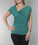$20 Pinched short sleeve top