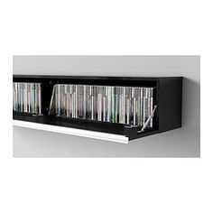 Ikea CD & DVD storage furniture. Would love to put two of these ...