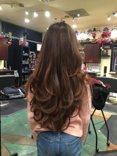 115 fabulous womens long hair hairstyles ideas for your easy going summer Long Layered Hair Straight easy Fabulous Hair hairstyles ideas long summer Womens Haircuts For Long Hair With Layers, Haircuts Straight Hair, Long Face Hairstyles, Long Layered Haircuts, Long Hair Cuts, Layered Long Hair, Long Hair Short Layers, Hair Layers, Long Bob