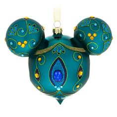 You& be proud as a peacock when hanging this dazzling Mickey Mouse icon glass droplet ornament with glittering golden filigree and faceted multicolor gems. Disney Christmas Ornaments, Peanuts Christmas, Mickey Christmas, Christmas Ideas, Christmas Stuff, Christmas Decorations, Hallmark Ornaments, Halloween Christmas, Homemade Christmas