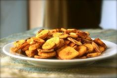 Острые банановые чипсы / Популярная медицина