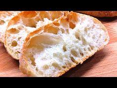 🔴Σπιτικό Ψωμί Τσιαπάτα Ιταλική κουζίνα - YouTube Pitaya, Bread, Baking, Sweet, Tube, Bread Types, Loaf Bread Recipe, Gastronomia, Oven