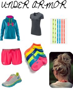 """Under armor"" by jilliandonohoo on Polyvore"