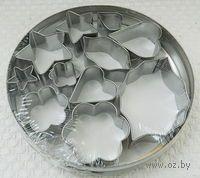 Набор форм для вырезания теста металлических (11 шт. в ассортименте)