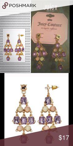 Juicy Couture Chandelier Earrings Chandelier Kite Goldtone Dangle Earrings Juicy Couture Jewelry Earrings