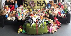 Week #4 update: The collection of cuddly toys (171 + 66 in the suitcase = 237) and baby clothes at Renees school is a huge success! www.sosasupport.nl