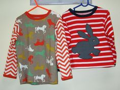 Easter is just around the corner --- The Sloppy Joe top includes a cute bunny applique. http://www.felicitysewingpatterns.com/product/sloppy-joe-top-pdf-sewing-pattern-bunny-applique-sizes-9-months-12-years-suitable-boys-and-0?tid=28