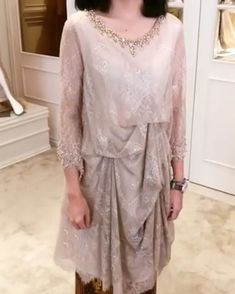 50 ideas for wedding reception outfit gowns Kebaya Lace, Kebaya Dress, Batik Kebaya, Dress Pesta, Batik Dress, Kebaya Modern Hijab, Dress Brokat Modern, Kebaya Hijab, Dress Brukat