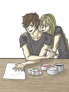 ... Julian Blackthorn and Emma Carstairs ...