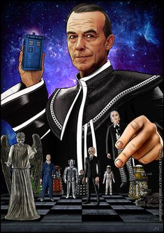 The Valeyard.....maybe he wasn't just some wierd guy the Master conjured up!  Maybe he really WAS the Dark Doctor!  Remember, no one was completely sure where he came from, but it was generally conceded that he was an evil, anti-Doctor.  And the Master was horrified to learn he could NOT control him!