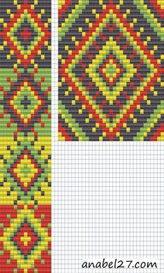 "Схема гердана ""Окно в лето"" - ткачество / гобеленовое плетение"