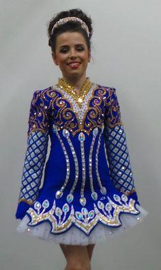 Doire Dress Designs Irish Dance Solo Dress Costume