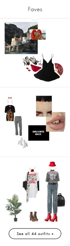 """Faves"" by julieatthedisco ❤ liked on Polyvore featuring HAMNETT, WALL, Ballet Beautiful, prettybasic, eurosummer, John Galliano, Murdock London, Maison Margiela, ASOS and Alexander Wang"