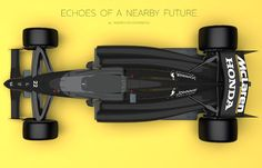 McLaren-Honda Formula 1 Concept with closed cockpit on Behance Red Bull F1, Formula 1 Car, Sci Fi Movies, Concept Cars, Grand Prix, Honda, Things To Come, Van, Racing