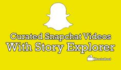 SnapChat Video Advertising, Marketing And Advertising, Snapchat Video, Seo News, Videos, Youtube, Blog, Blogging, Video Clip