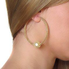Hoop Earrings, Pearl Hoops, Gold Large Hoop Earrings, Wire Crochet Hoop Earrings #GoldHoops #HoopEarrings #GoldHoopEarrings #hoops #PearlEarrings #LargeHoopEarrings #PearlHoop #HandmadeHoop #earrings #jewelry