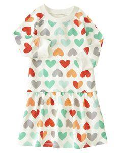 Heart Print Dress at Crazy 8