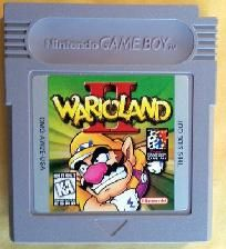 Wario Land II (Nintendo Game Boy, 1998) 52 levels,solving mini-puzzles/get coins