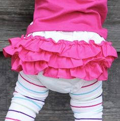 Adorable Ruffles for Baby.