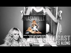 Can't get enough of this one right now.  Nashville Cast - When the Right One Comes Along (feat. Sam Palladio) (HD audio)
