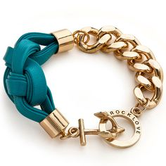 Turquoise Threadbare Bracelet by RockLove <3 na