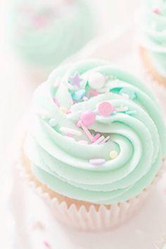 minty cupcakes pastel
