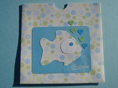 Cartes d'invitation anniversaire enfant, thème poisson : Ecole et loisirs par filsetcouleurs