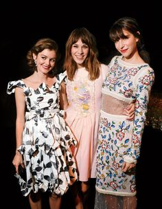 Nora Zehetner, Alexa Chung, and Caroline Sieber attend Chanel Fine Jewelry's 80th-anniversary dinner and party.
