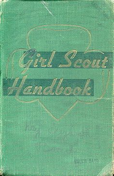 1947 GS Handbook- Although I personally did not make it past Brownies, my sisters were both Girl Scouts.  The disgrace of it all... :-D