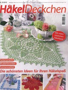 Hakel Deckchen №25-2012 (Вязание крючком). Обсуждение на LiveInternet - Российский Сервис Онлайн-Дневников