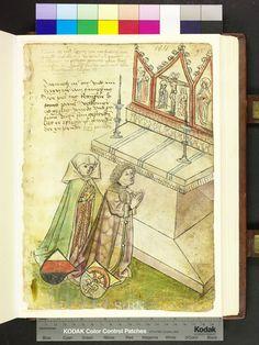 Amb. 317.2° Folio 93 recto  Coral Rosaries  Die Hausbucher der Nurnberg Zwolfbruderstiftungen