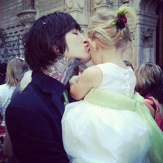 Mitch Lucker(RIP) & his Daughter