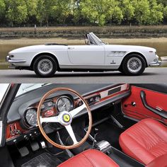 _______________________________________________  1965 Ferrari 275 GTS  Only one of 200 produced  @FiskensHistoricAutomobiles  POR  The 275 GTS premiered alongside the 275 GTB at the 1964 Paris Auto Show. While the cars look dramatically different they shared similar 3.3-liter Colombo V-12s, chassis, and suspensions. The spider model, the replacement for the 250 GT Series II Cabriolet, was clearly intended for the American market, where the attractiveness and marketability of a…