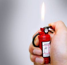 a fire extinguisher lighter ;)