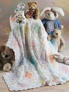 Free Crochet Pattern: Diamond Crib Quilt