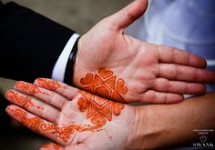 Planned, Designed & Produced by www.swankproductions.com Tuscan Wedding at Angel Orensanz. Bride and Groom's henna tattoos #swank #tuscan #wedding #angel #orensanz #orange #extravagant #beautiful #creative #ideas #inspiration #henna #decor