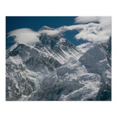 Mount Everest, Nepal. 3 Poster